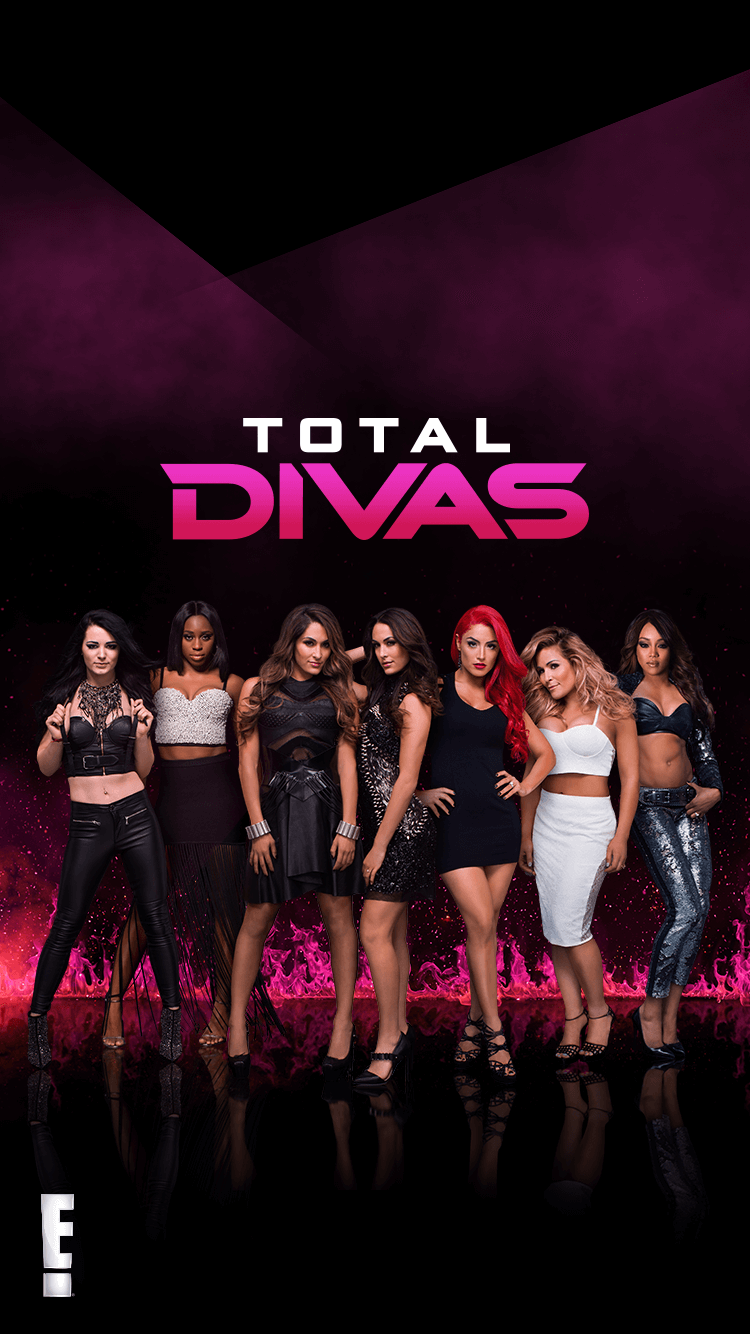 Total divas on twitter give your phone a good smackdown - Wwe divas wallpapers ...