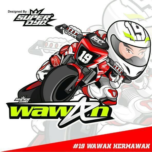 Astramotorracingteam On Twitter Desain Karikatur Wawan Hermawan
