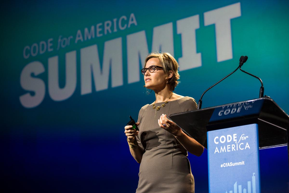 """""""Starting w/ users isn't just how we shld be making tech, it's how we shld be making govt"""" - @pahlkadot at #cfasummit http://t.co/OtwVJGREKO"""