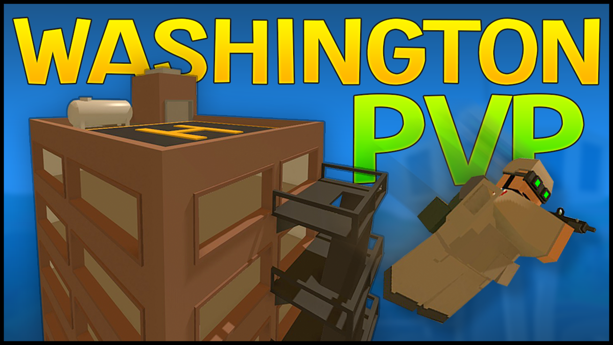 2rgames On Twitter Unturned Pvp On The Washington Map Mostly In