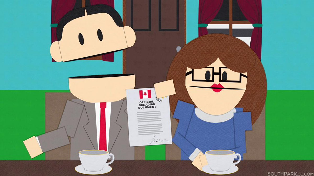 Christmas In Canada South Park.South Park On Twitter We Actually Met Ike S Real Canadian