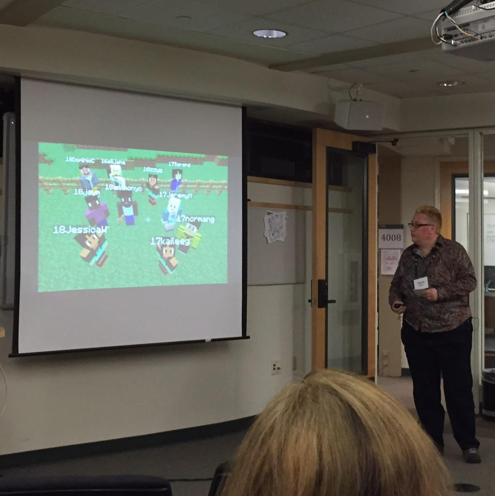 Gaming ideas from Diane Main-more encouragement to get Minecraft in my class! @lwaxman #kcilook @Dowbiggin #meritkci http://t.co/tLizuG2HNB