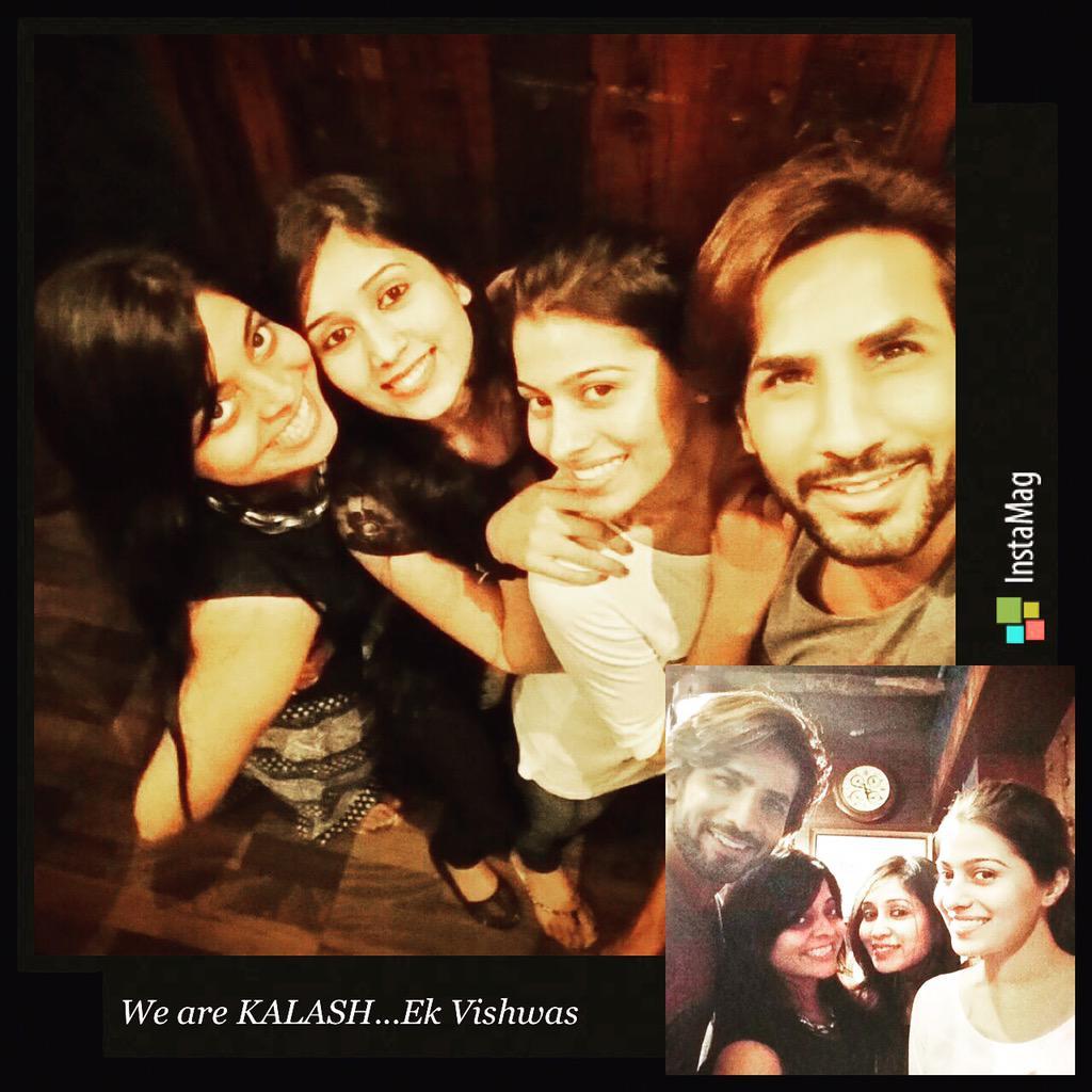 Kalash Ravi & Devika Pics offscreen