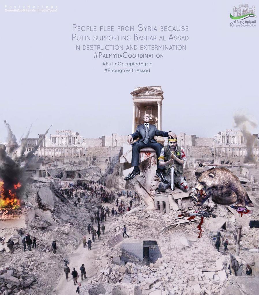 Сирийская кампания Путина может стать началом конца его авторитарного режима, - американский аналитик - Цензор.НЕТ 2150