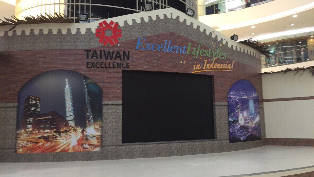 Ditunggu kedatangan anda di Senayan City main Atrium besok, datang yah !!! #taiwanexcellence2015 # #senayancity http://t.co/calxJLU7IV
