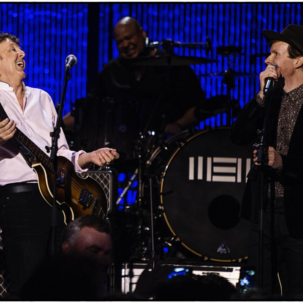Paul McCartney And Beck Played Some Beatles Songs Together