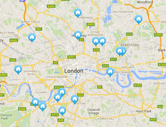 RT @jimwaterson: London Banter Map (spare room ads requiring housemates to have 'banter'): Clapham still strong but East catching up. http:…