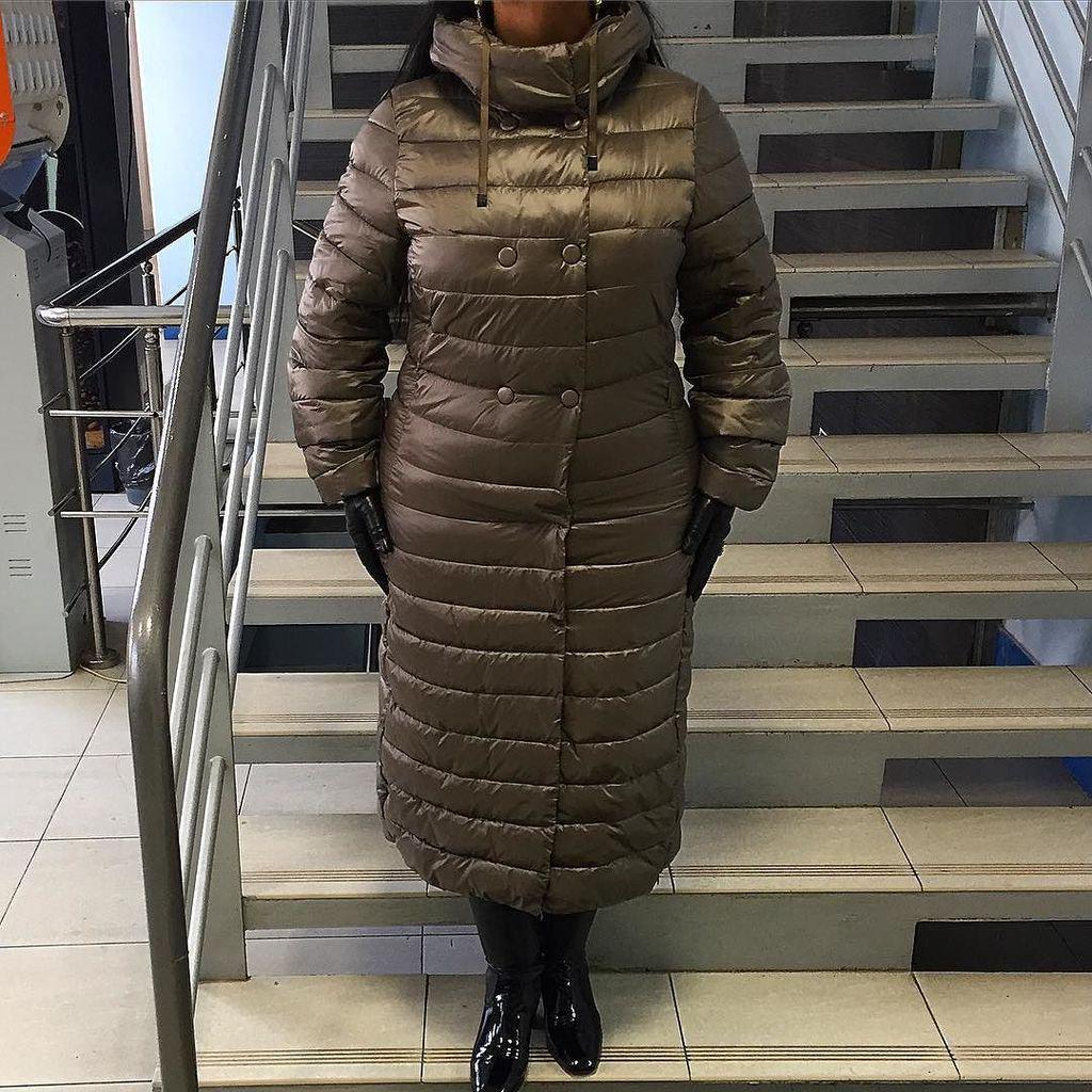 пальто на синтепоне женское с капюшоном где выбрать в москве