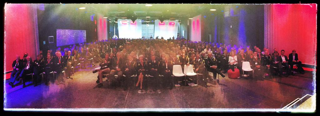 * Plenary session @brwcongres. Firemen and women in uniform... How safe can one be? #brwcongres http://t.co/1dJvDEiAUs