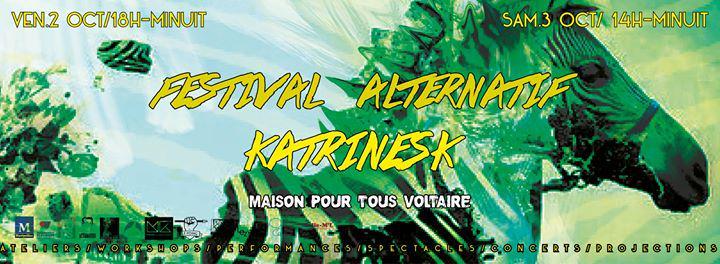 Ce week-end à #Montpellier un festival alternatif à petit prix : #katrinesk >> http://t.co/6pgk39Qht2 http://t.co/ohCI3eSqMz