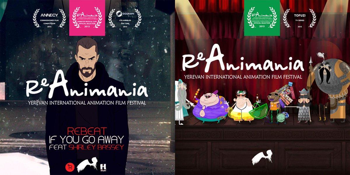 reanimania hashtag on Twitter