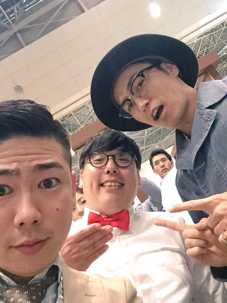SCAJにTETSUYAさんと井崎さん! EXILEカジノ以来の3人めちゃめちゃ嬉しかったー! #ジャパンバリスタチャンピオンシップ http://t.co/ODC8NpKmNR