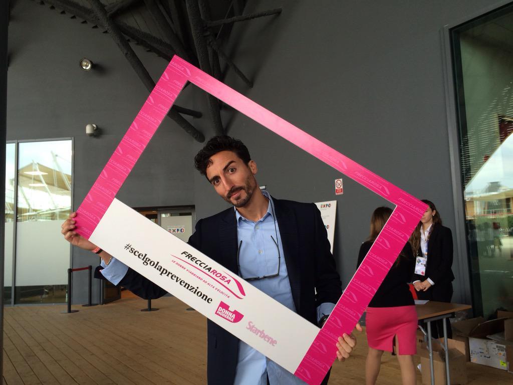 A sostenere la campagna #Frecciarosa oggi anche il ballerino @samuel_peron #scelgolaprevenzione IncontraDonna http://t.co/IYL1QpXjAD