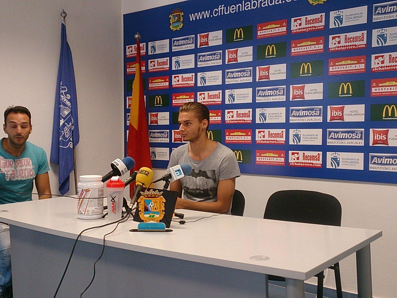 Dorian Babunski at the presser; photo: Soyde Fuenla