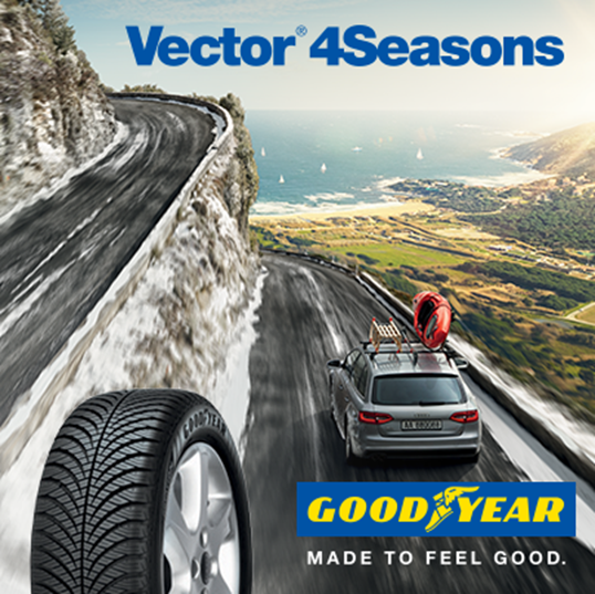 goodyear tyres on twitter the goodyear vector 4seasons gen 2 tyre winner of autobild s. Black Bedroom Furniture Sets. Home Design Ideas