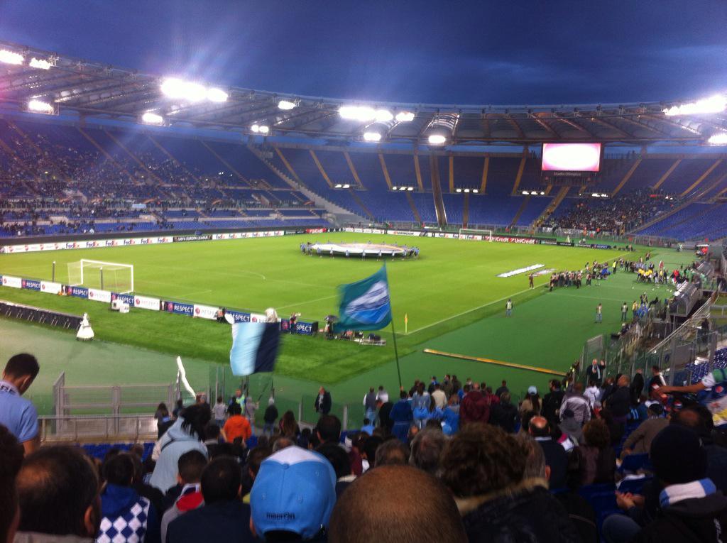 Lazio-Saint Etienne Video: Lazio sotto di un gol dopo soli 6 minuti
