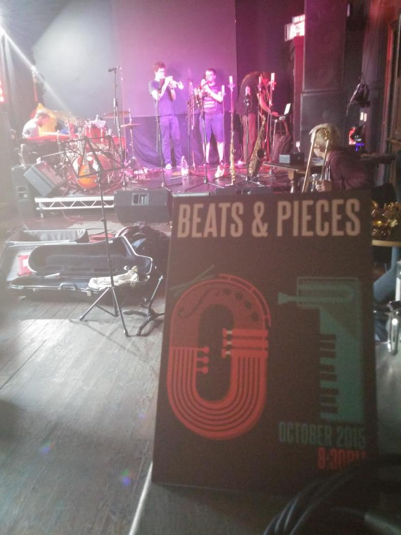 Soundcheck is go, @beatsnpieces in #brum @hareandhounds 8.30pm #jazzlines #thsh #livemusic #ilovebrum http://t.co/Cv3Hd7lYke