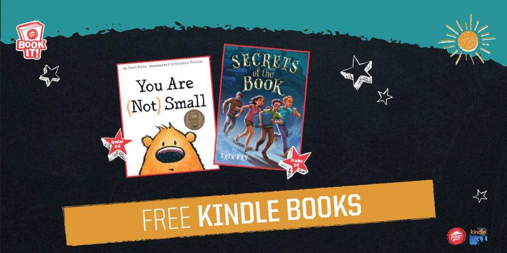 For Nat'l BOOK IT! Day, we teamed up w/ @amazon to bring you free bks! Let the reading begin! http://t.co/m9n8tayvy8 http://t.co/G9zudDAuMo