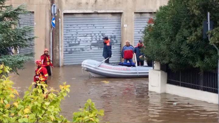 Alluvione Sardegna, la storia si ripete a Olbia