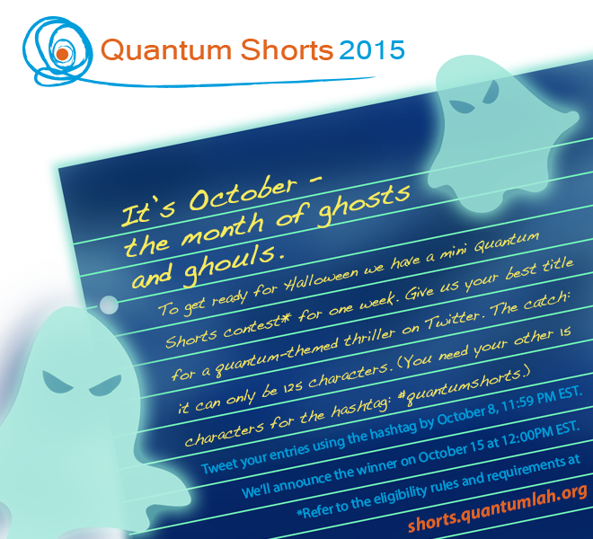 Tweet a title for a quantum-themed thriller! #quantumshorts mini-contest by @QuantumIQC http://t.co/4hjmIp8Tsj http://t.co/rzeAUtDQty
