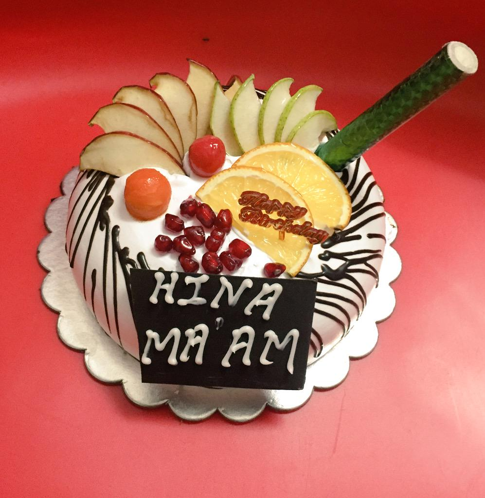 Hina Khan On Twitter Goshhhh Another Cakee My 10th Pre Birthday
