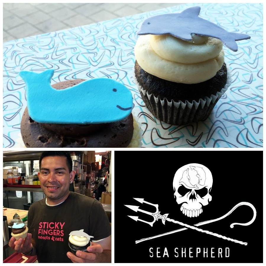 Our Oct charity: @SeaShepherdBDC Eat these #cupcakes & we'll donate! Benefit happy hour Tues 6th @ 5p! #vegan https://t.co/vDA1My2HEP