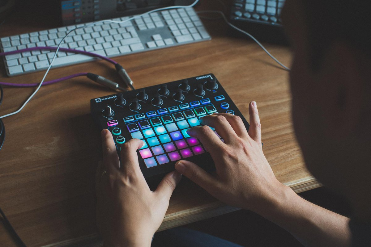 Introducing Novation Circuit. The inspirational grid-based groove box. http://t.co/YcNuEajPJh http://t.co/hBcNgmLWM4
