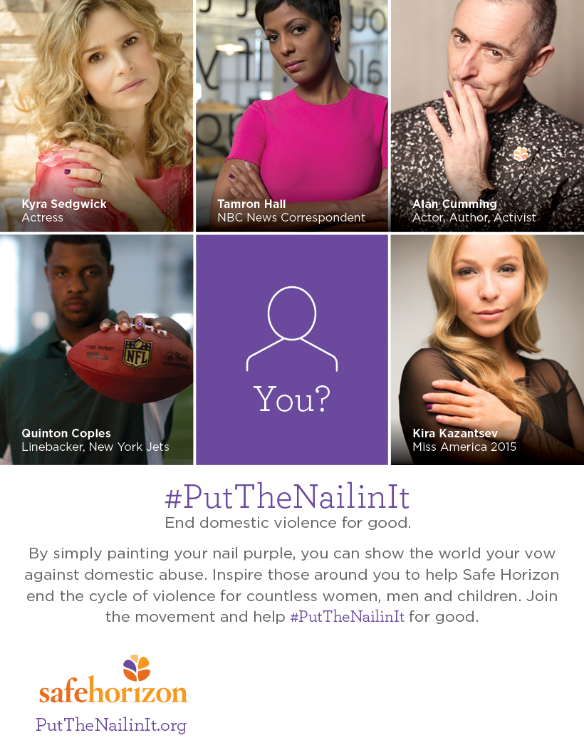 October 1 marks the start of #DVAM. You can raise awareness about #DV & save lives by joining #PutTheNailinIt today. http://t.co/ynBNKvPC9P