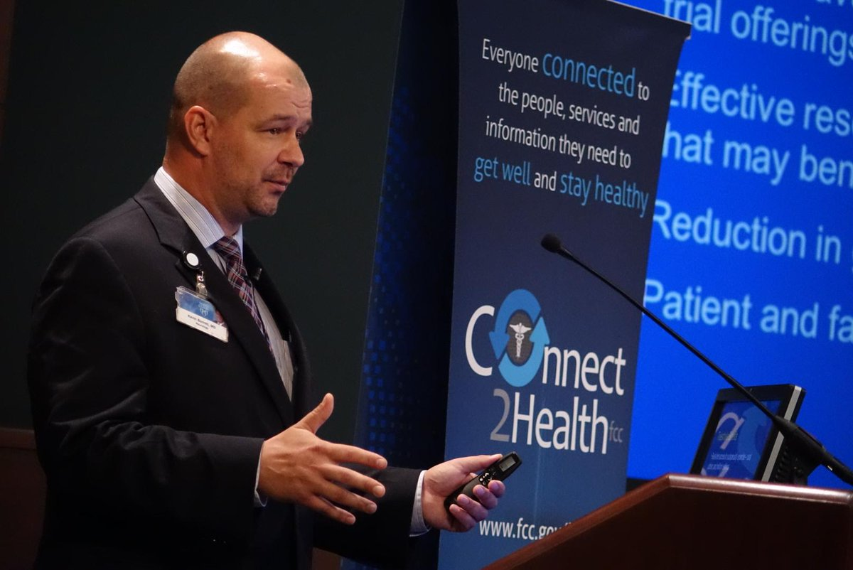 This is the #FutureOfHealthcare. @MayoClinic's @KevinMBarrettMD giving us an amazing live #telemedicine demo! #C2HFCC http://t.co/GeK5eFxUIC