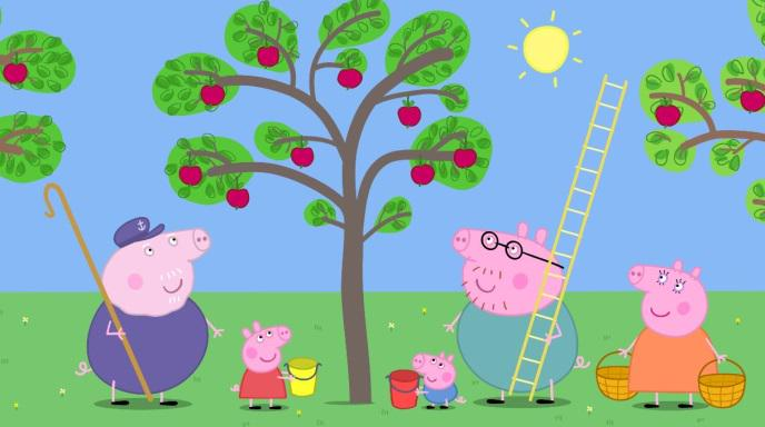 Peppa Pig Us On Twitter Peppa And Her Family Love The Fall Weather