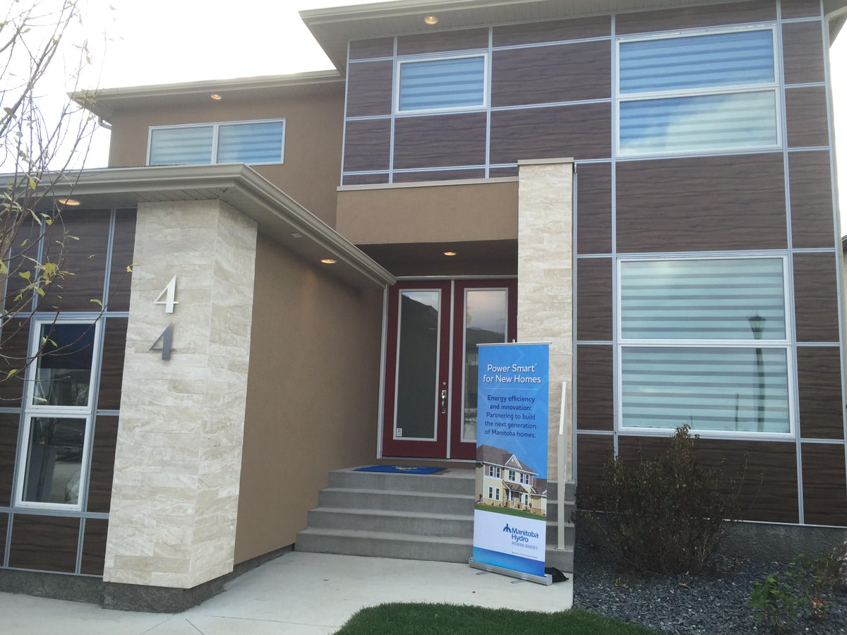 Manitoba Hydro On Twitter Building A House We Want To Help You Build Smart Like This In Sage Creek Https T Co 6r6bvqzdsg