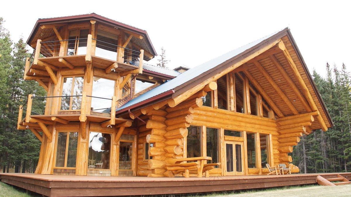 Log cabin kings on twitter tbt take a peek chilkoexp for Stili di log cabin