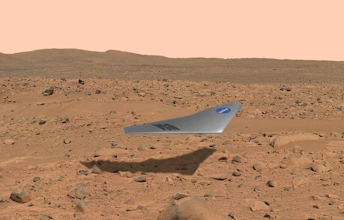 Interns are helping our #JourneytoMars by making advancements on a Mars Airplane concept https://t.co/OqUGJ8k8Su https://t.co/WKXY2EnOkB