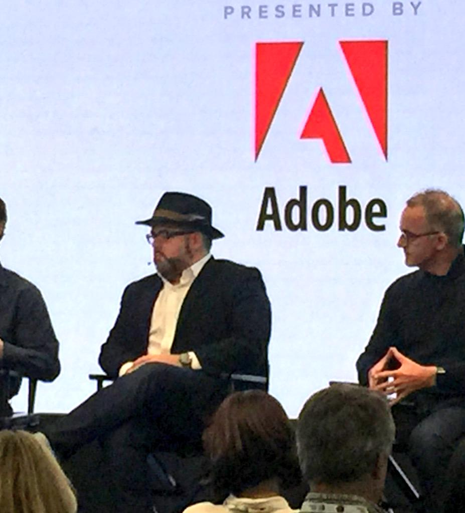 We are already experimenting with programmatic #TV! @Adobe's @alexamado #AWXII