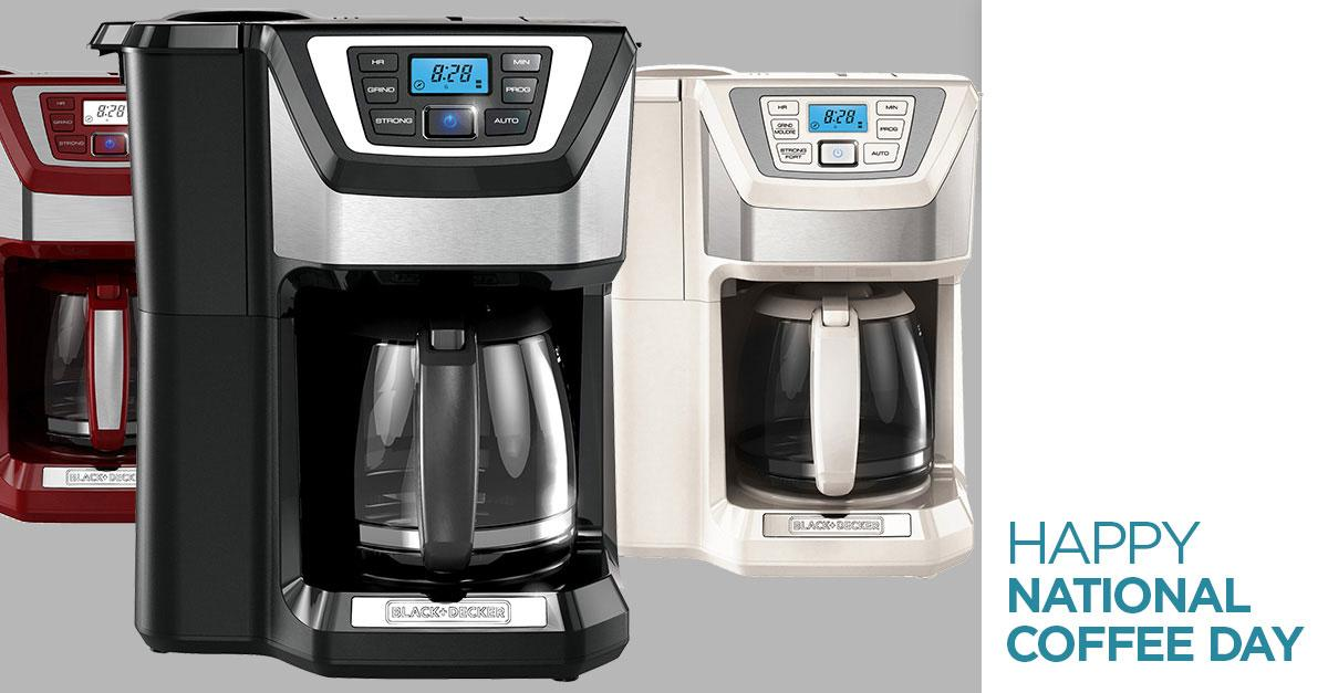 Tweet to #win a Mill&Brew Coffee Pot for #NationalCoffeeDay! #BDHeartsCoffee @blackanddecker https://t.co/gOui2c4eBg https://t.co/DDnaYXKnyy
