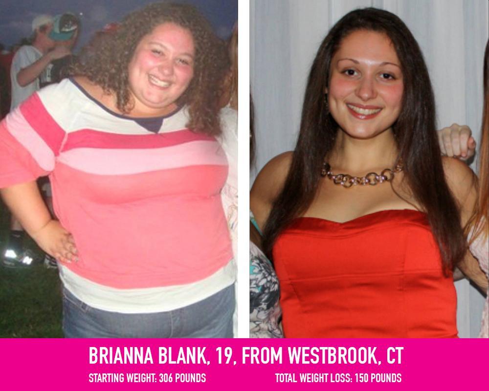 Brianna's weight loss