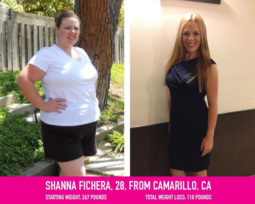 Weight loss by Shanna Fichera