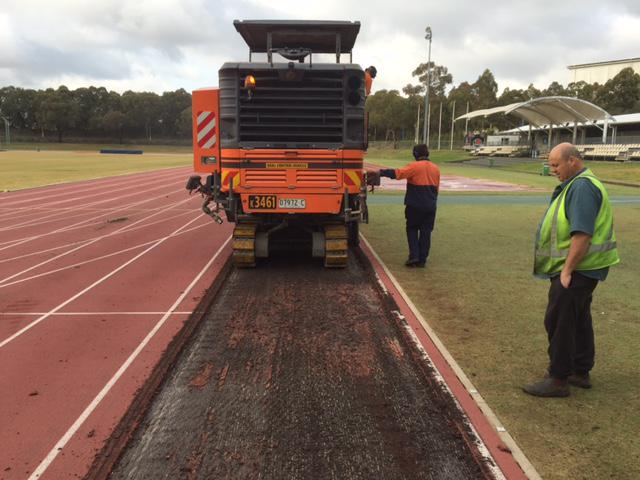 Polytan Asia Pacific On Twitter Rekortan Upgrade To The Sydney Olympic Park Athletic Centre Tracks Has Started At Warm Up Track