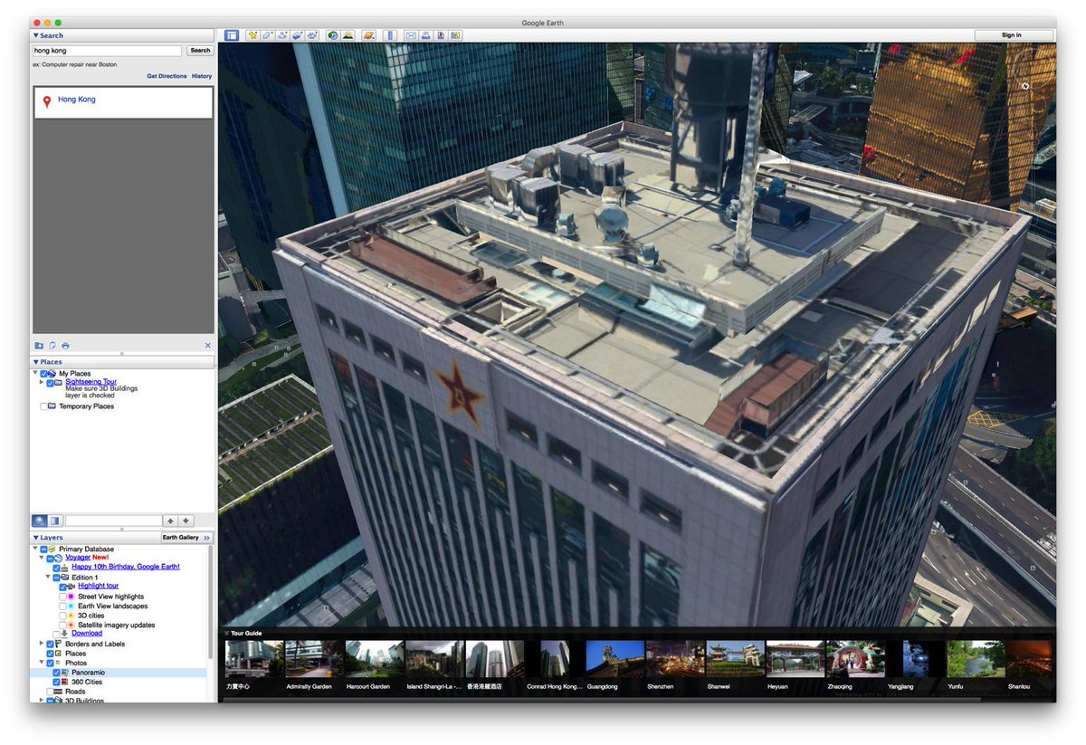 Google earth d 衛星圖真係清楚得過份… http://t.co/aUxWfYFIn3