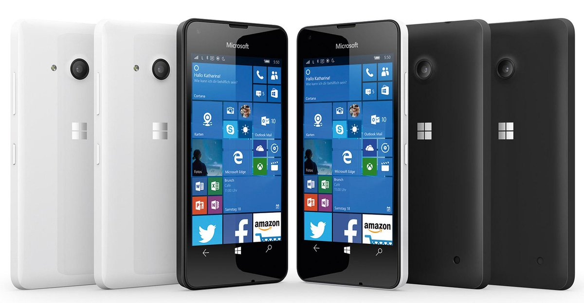 Microsoft's new Lumia 950 and Lumia 550 phones shown clearly in new leaks