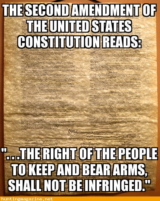 the second amendment of the united states The second amendment (amendment ii) to the united states constitution protects the right of the people to keep and bear arms and was adopted on december 15, 1791, as part of the first ten amendments contained in the bill of rights.