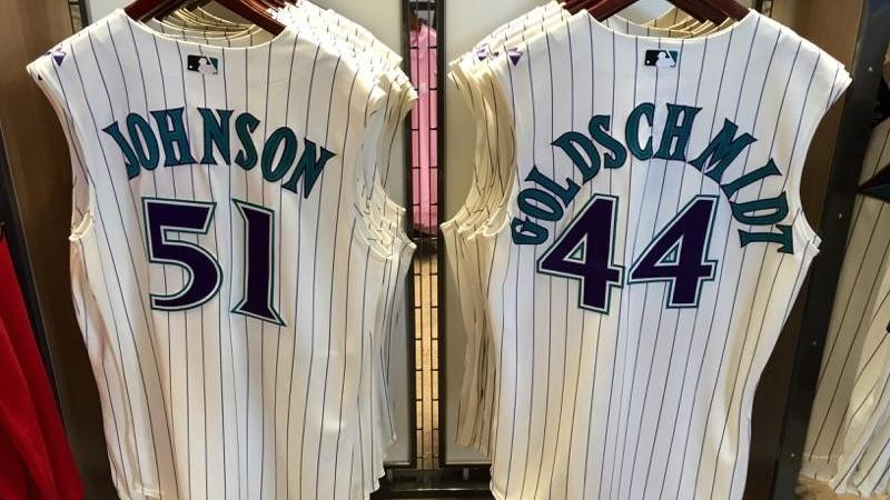 9bb9b374a Get some old school #DbacksTBT gear tonight at the Chase Field Team  Shop.pic.twitter.com/Qki9uKwJet