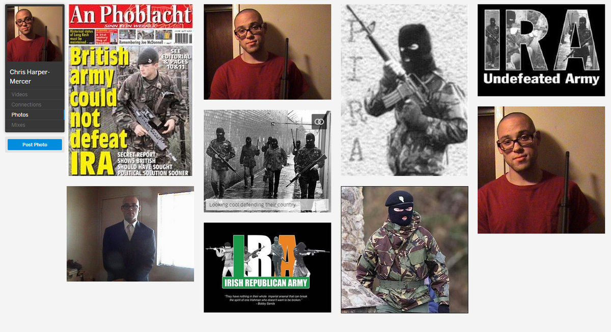 About that Irish Republican Army Harper-Mercer loved