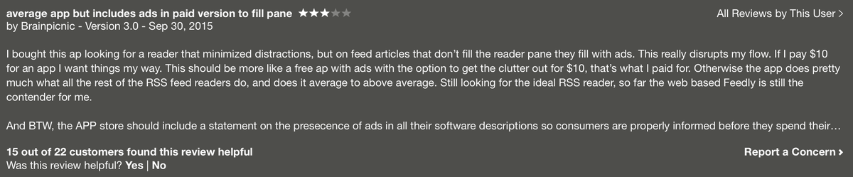 Reeder is not ad-supported. http://t.co/WEtdQy7VlQ http://t.co/A6tWXfLolv
