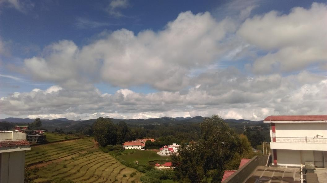 View from restaurant. Sterling Elk Hill. #Ooty #nofilters http://t.co/aGYxcMduAP