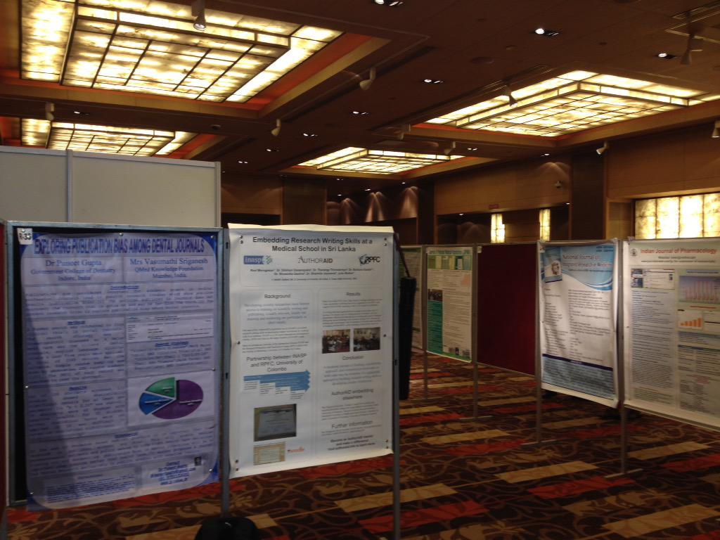 Spot the @INASPinfo poster! #wame http://t.co/icCl6MqaOM