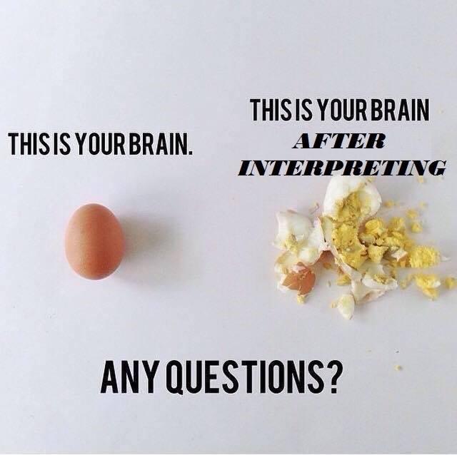 This is your brain... (chistes y viñetas sobre interpretes) CQSaPJeWcAApf_z