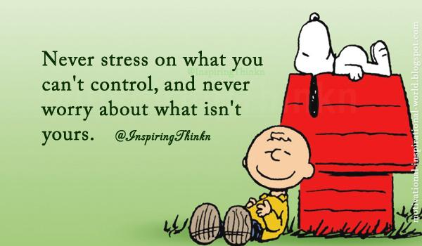 "Roy T. Bennett On Twitter: ""Never Stress On What You Can't"