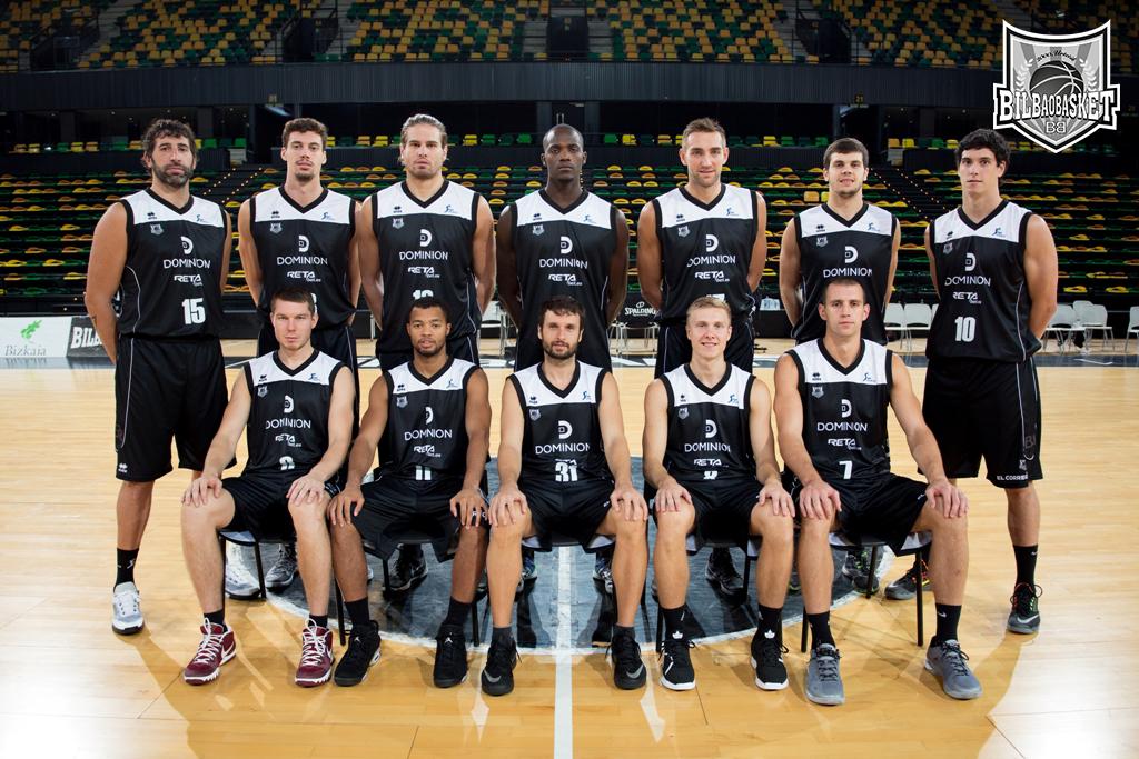 Dominion Bilbao Basket presenta su nueva piel para la temporada 2015 ... 39ffdee0b1fcb