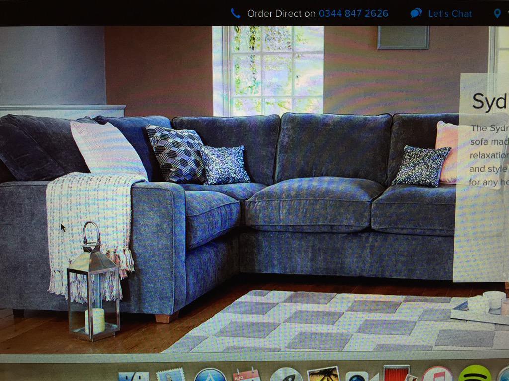 Tesco On Twitter At Jcr87 Oooh A Corner Sofa That